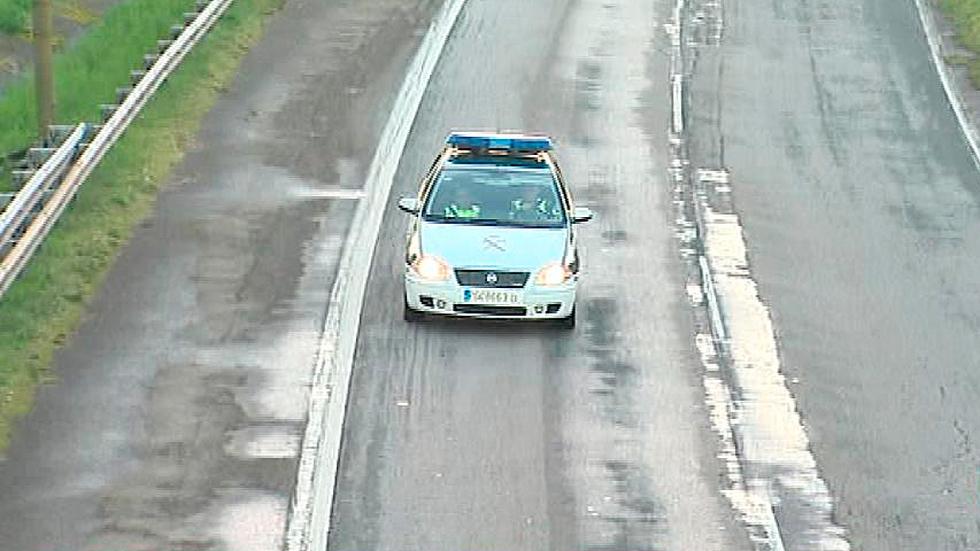 Oviedo cierra al tráfico un tramo de la autopista 'Y' por contaminación