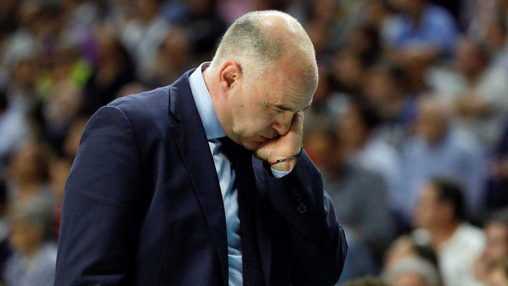 """Pablo Laso afirma que la última jugada de la final de Copa """"no es un error humano"""""""