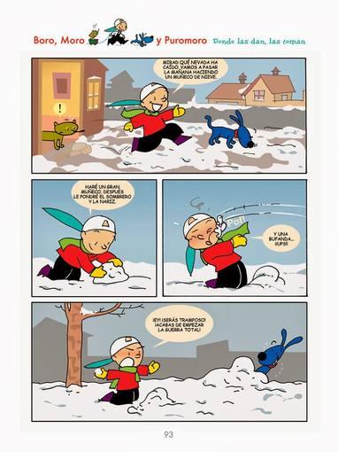 Página de 'Boro, Moro y Puromoro, 15 años'