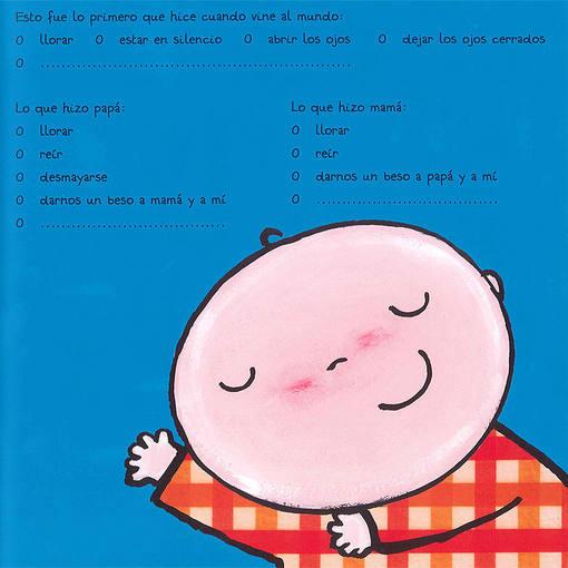 Página de 'Soy una niño', de Liesbet Slegers