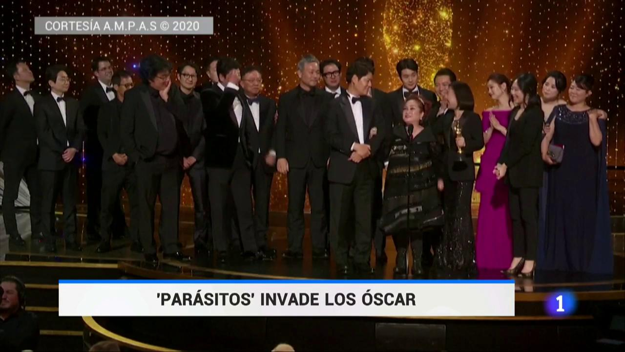 'Parásitos' invade los Oscar