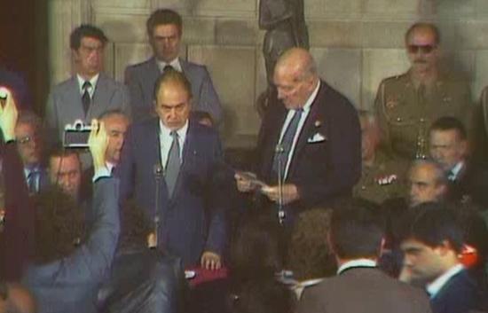 ARxiu TVE Catalunya - El Parlament de Catalunya un any després (1981)