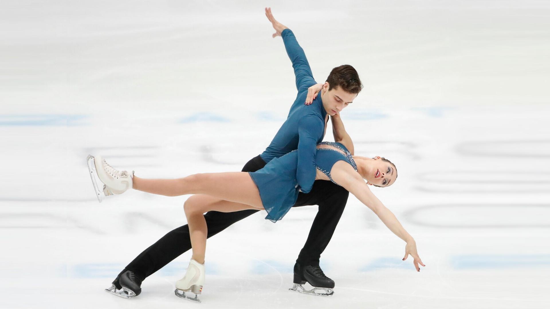 Patinaje artístico - Campeonato de Europa. Programa libre parejas