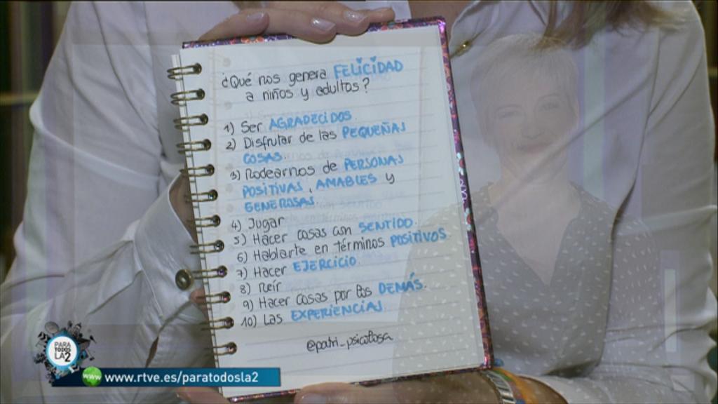 Para Todos La 2 - Patricia Ramírez analiza qué nos genera felicidad
