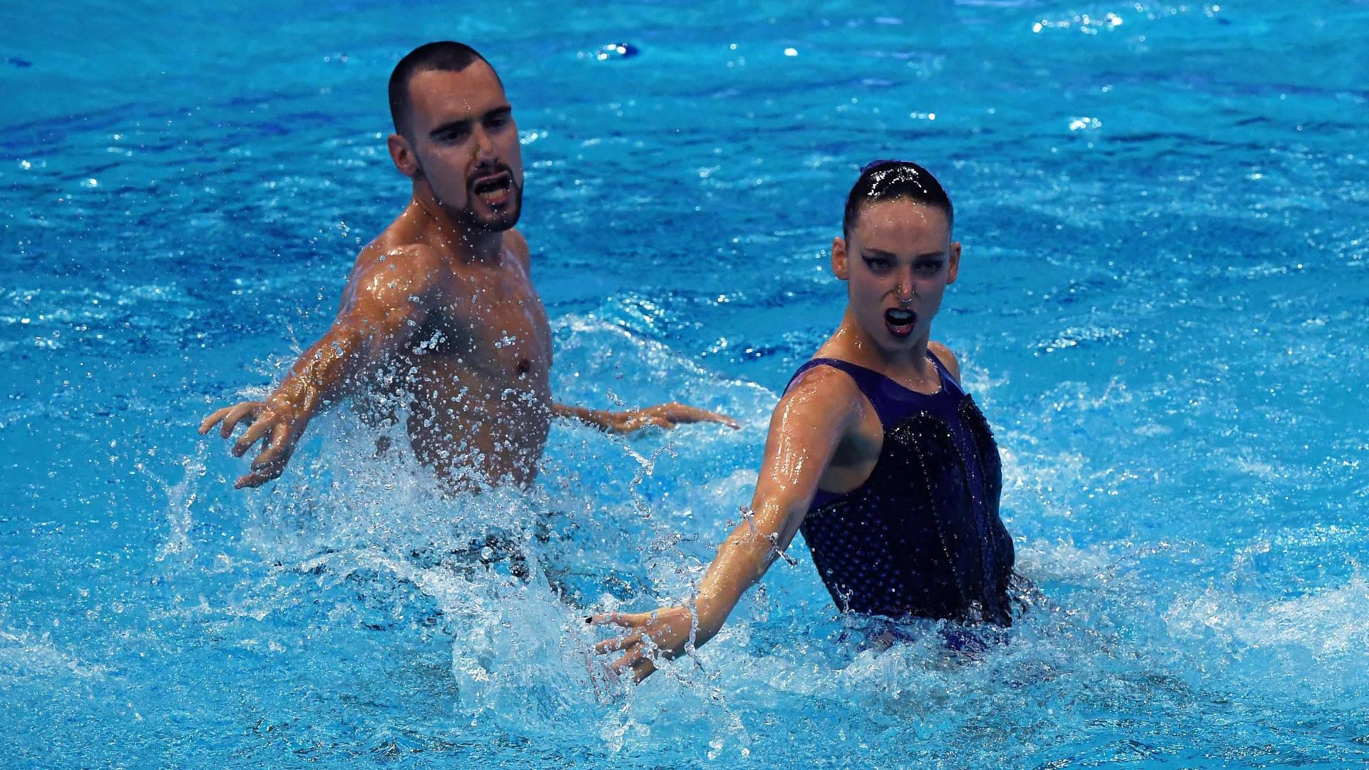 Pau Ribes y Emma García logran la plata en dúo técnico mixto en el Europeo