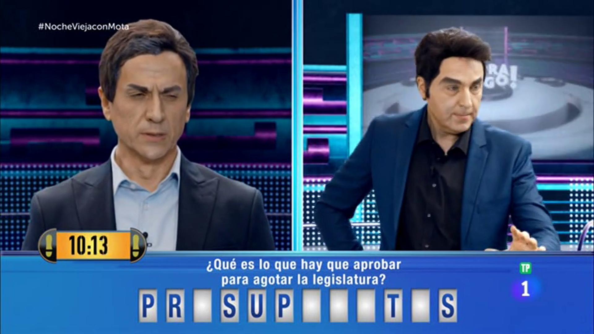 Pedro Sánchez concursa en 'Ahora Caigo'