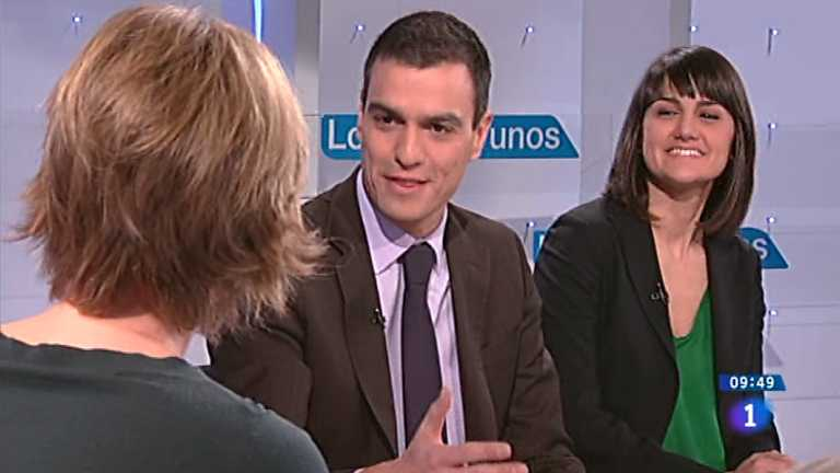 Los desayunos de TVE - Pedro Sánchez y Mª González Veracruz, Coordinadores Conferencia política del PSOE