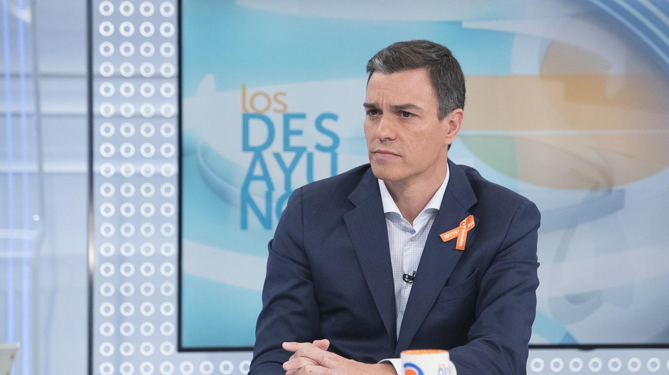 Los desayunos de TVE - Pedro Sánchez, secretario general del PSOE