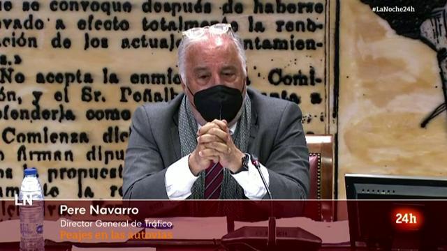 Pere Navarro se muestra a favor del peaje en autovías