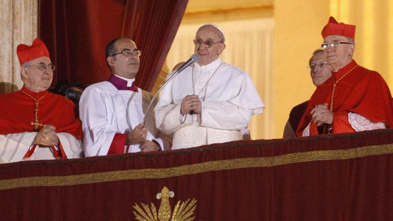 Bergoglio, un papa diferente