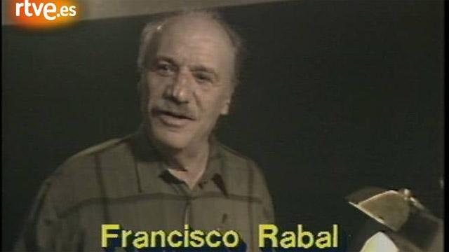 Perfil de Francisco Rabal (1989)