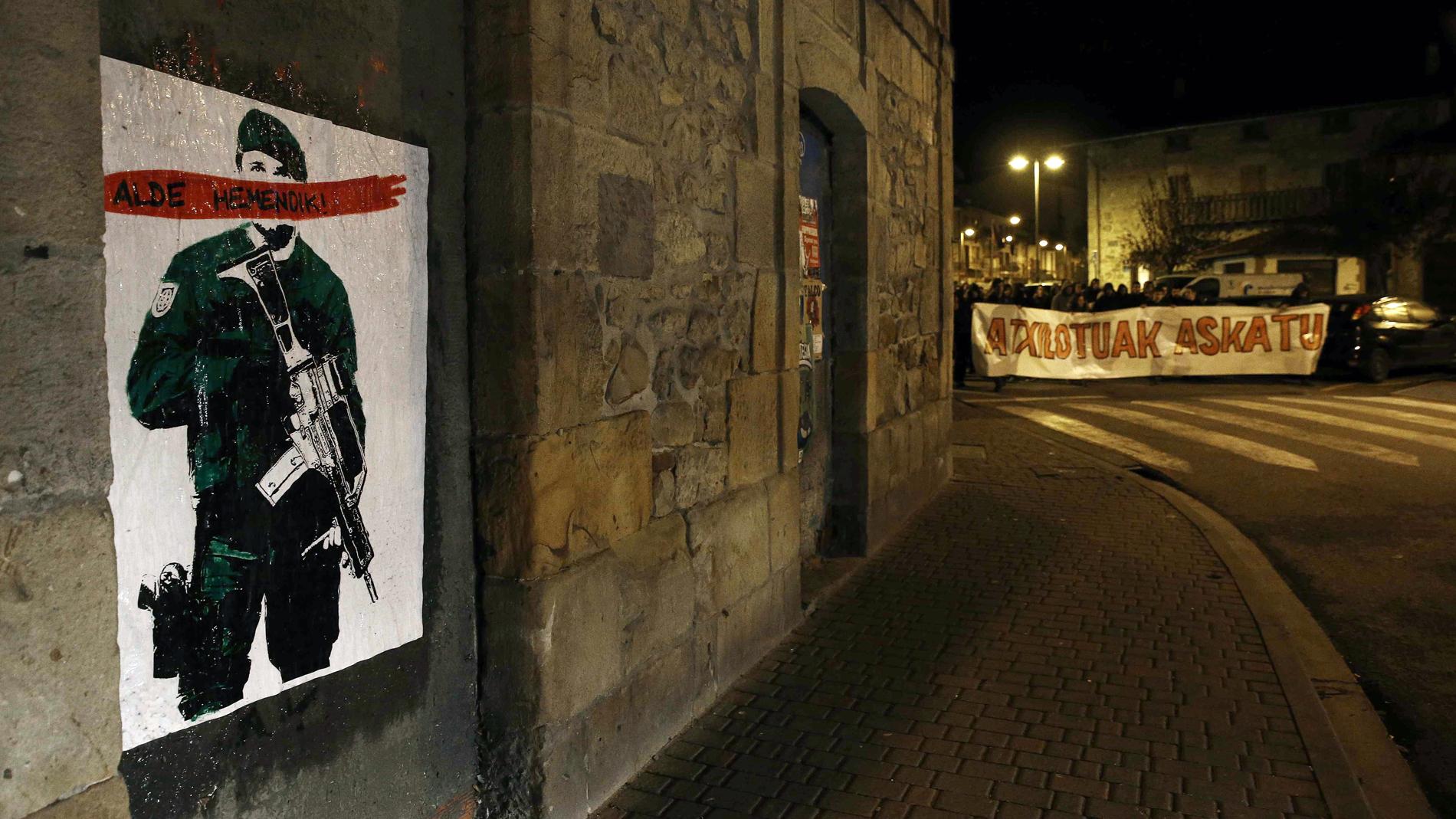 Los peritos de la Guardia Civil identifican la estrategia de ETA en la agresión de Alsasua