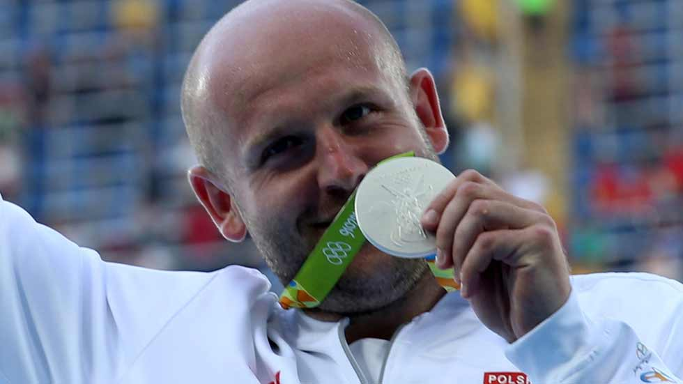 Piotr Malachowski convierte su plata de Río 2016 en oro
