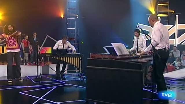 """Neo percusión y ara malikian: """"invierno porteño"""" de astor piazzola"""
