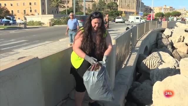 Repor - Plastificados - Voluntarios de Greenpeace quieren dar a conocer el problema medioambiental que provocan los plásticos