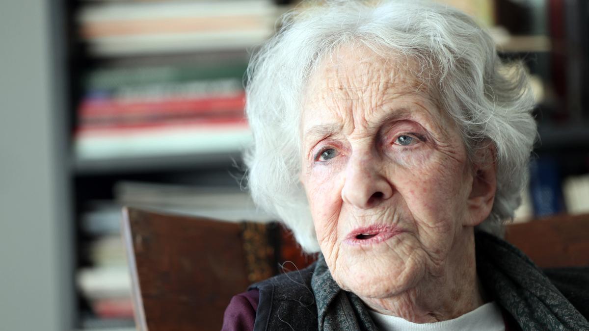 La poeta uruguaya Ida Vitale, Premio Cervantes 2018