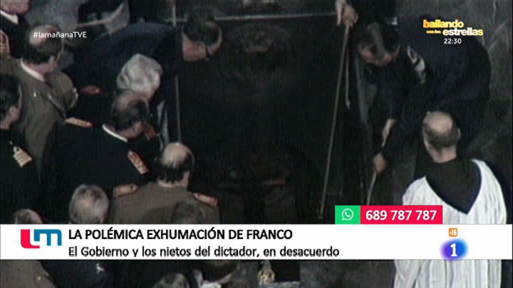 Polémica por la exhumación de Franco del Valle de los Caídos
