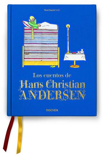 """Portada del libro 'Los cuentos de Hans Christian Andersen"""""""
