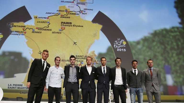 Ciclismo - Presentación Tour de Francia 2015