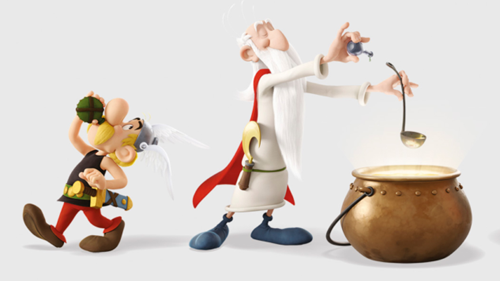 Primer teaser-tráiler, en castellano, de 'Asterix: El secreto de la poción mágica'