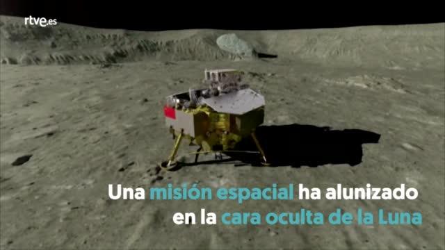 Primeras imágenes desde la cara oculta de la Luna