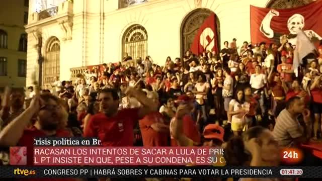 En prisión desde el 7 de abril, Lula lidera las encuestas a 3 meses de las presidenciales brasileñas