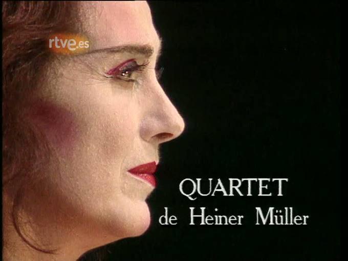 Arxiu TVE Catalunya - Quartet, de H. Müller, des del Teatre Lliure