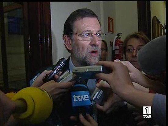"""Rajoy apoyará a San Gil """"tome la decisión que tome"""""""