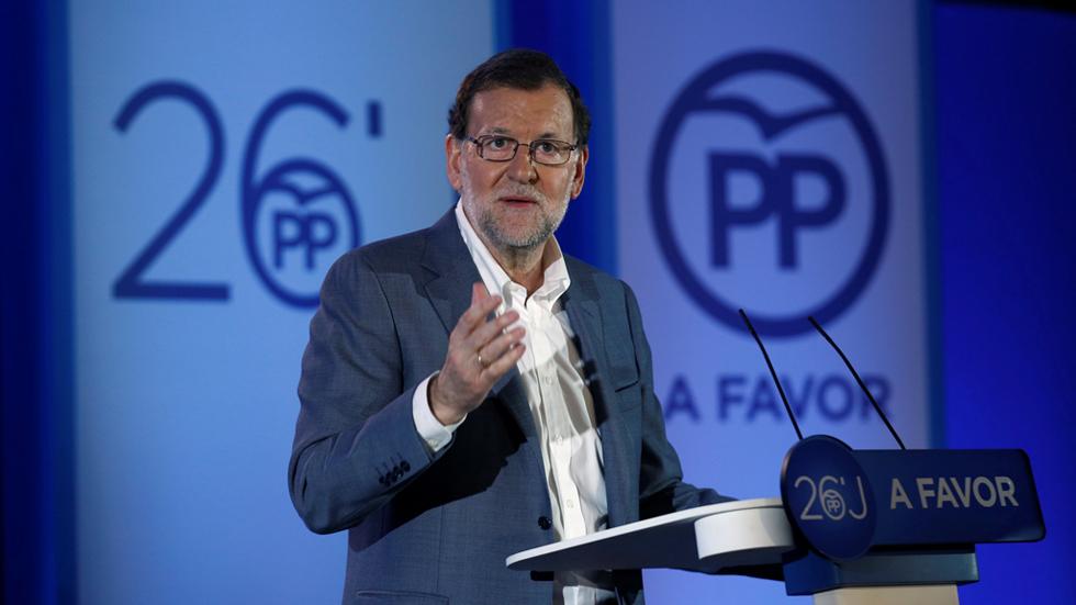 Rajoy presenta en Barcelona su programa electoral y promete bajar los impuestos