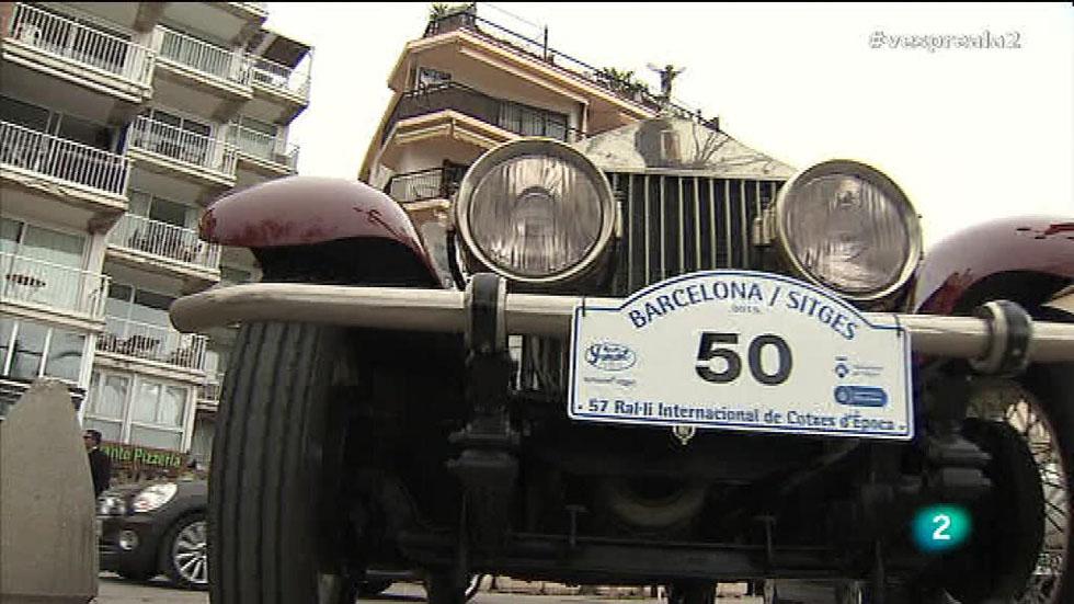 Vespre a La 2 - Ral·li de cotxes d'època Barcelona - Sitges