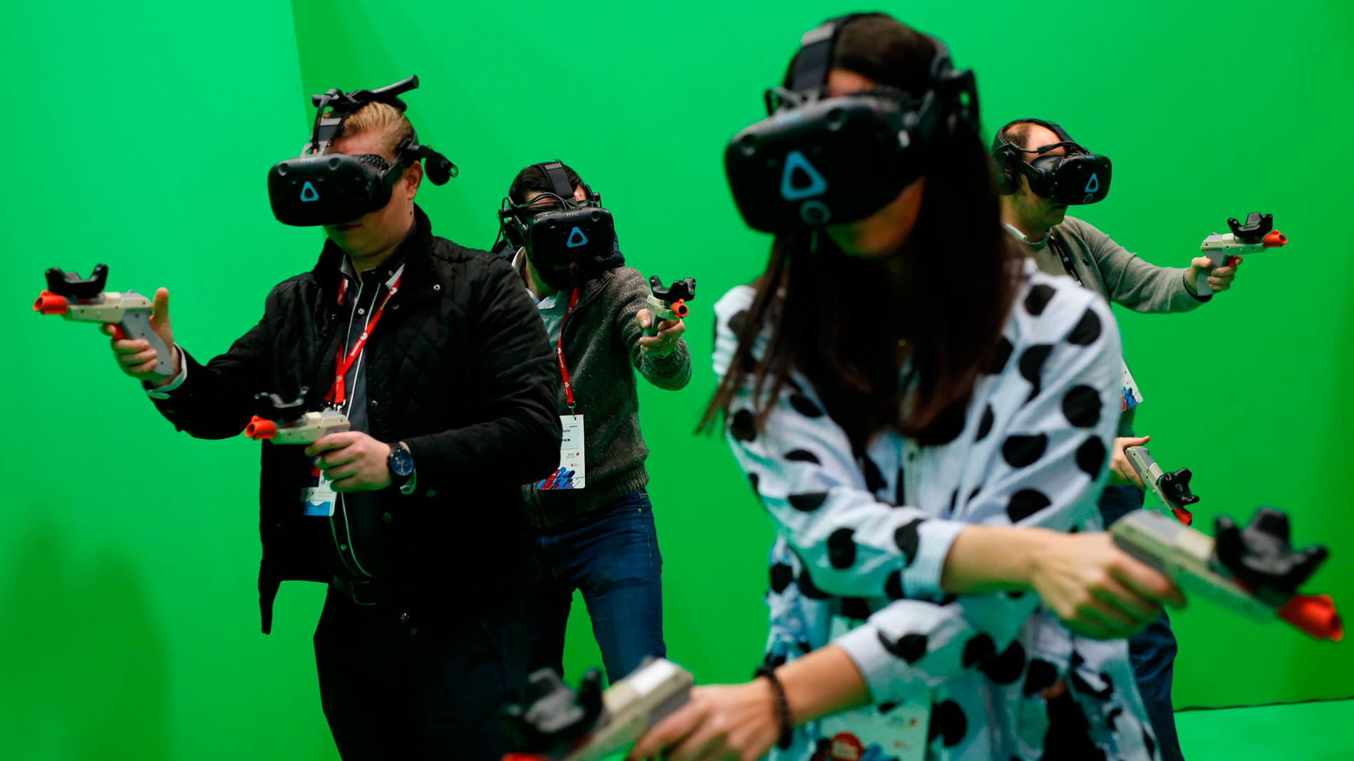 La realidad virtual toma el Mobile World Congress