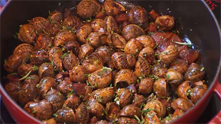 caracoles de tierra para comer