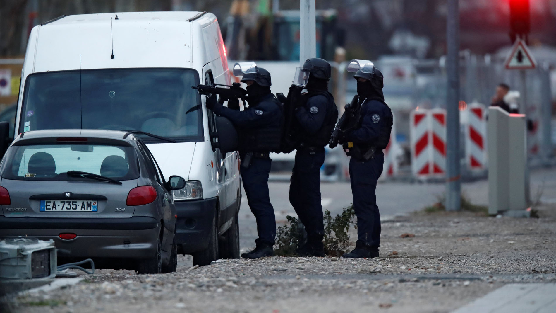 Redada policial en el barrio donde vivía el tirador de Estrasburgo
