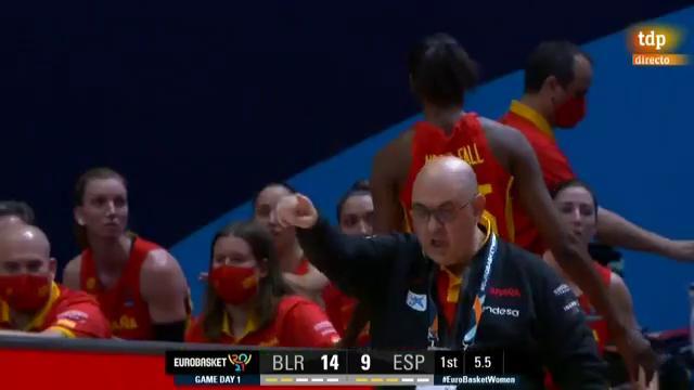 Resumen del España 53-51 del Eurobasket