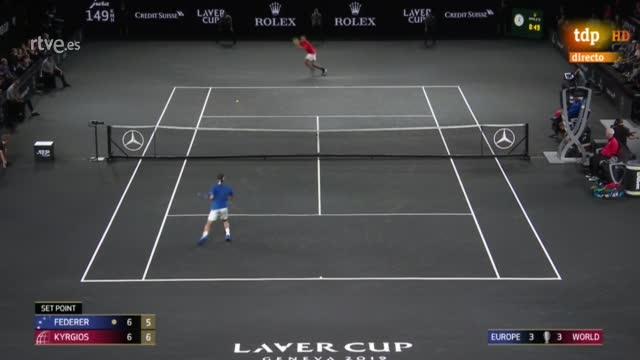 Resumen | Laver Cup: Federer - Kyrgios