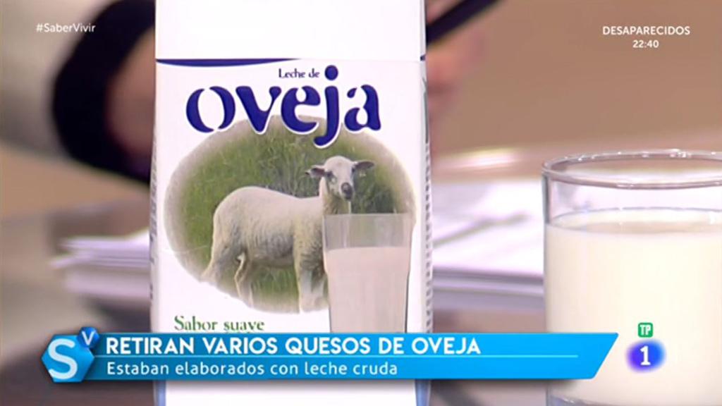 Saber Vivir - Retiran varios quesos de oveja elaborados con leche cruda