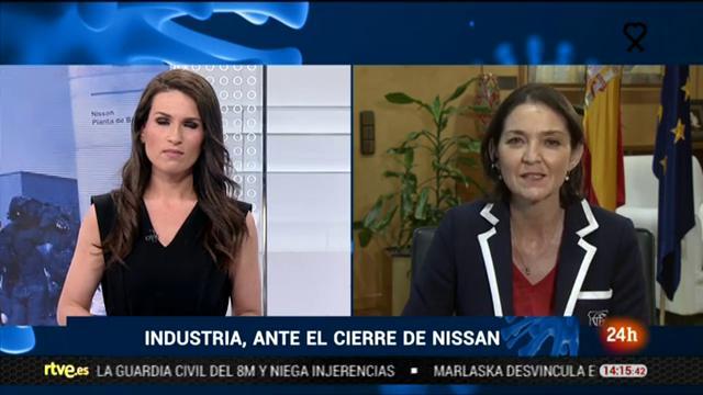 Reyes Maroto defiende la capacidad productiva de Nissan en Barcelona