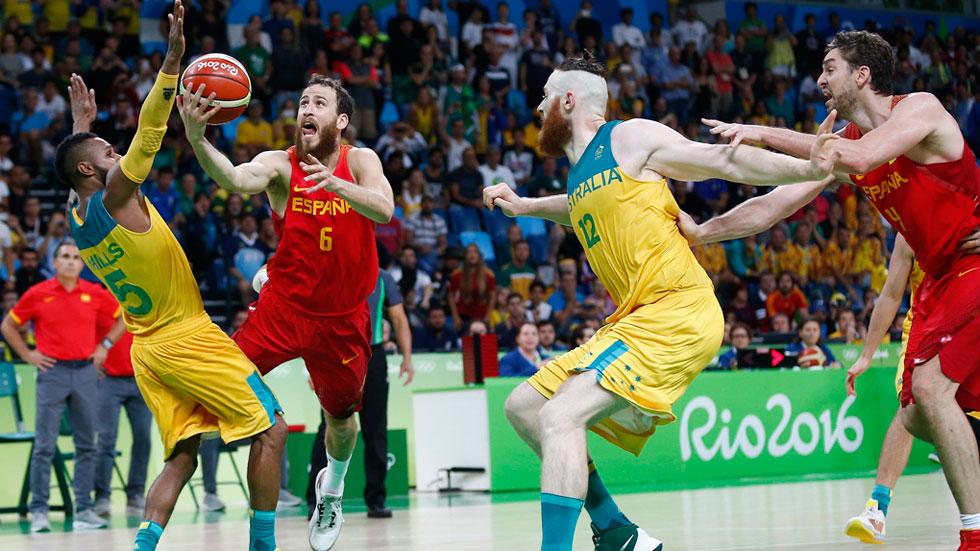 Río 2016. Baloncesto | La selección de baloncesto celebra la medalla de bronce