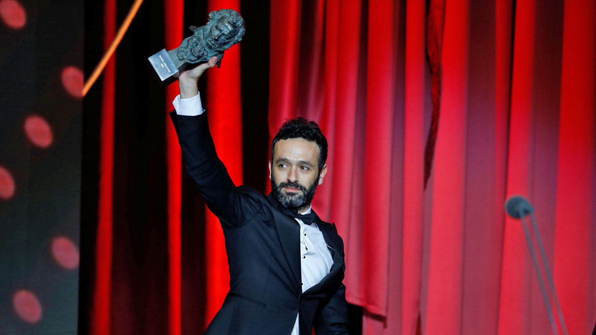 """Rodrigo Sorogoyen, Goya al mejor director por 'El reino': """"Estáis creando un monstruo"""""""