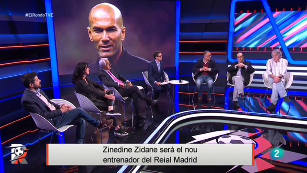 El Rondo - Zinedine Zidane nou entrenador del Reial Madrid
