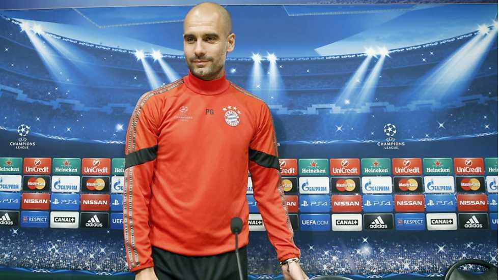 Champions League - Rueda de prensa Bayern Munich