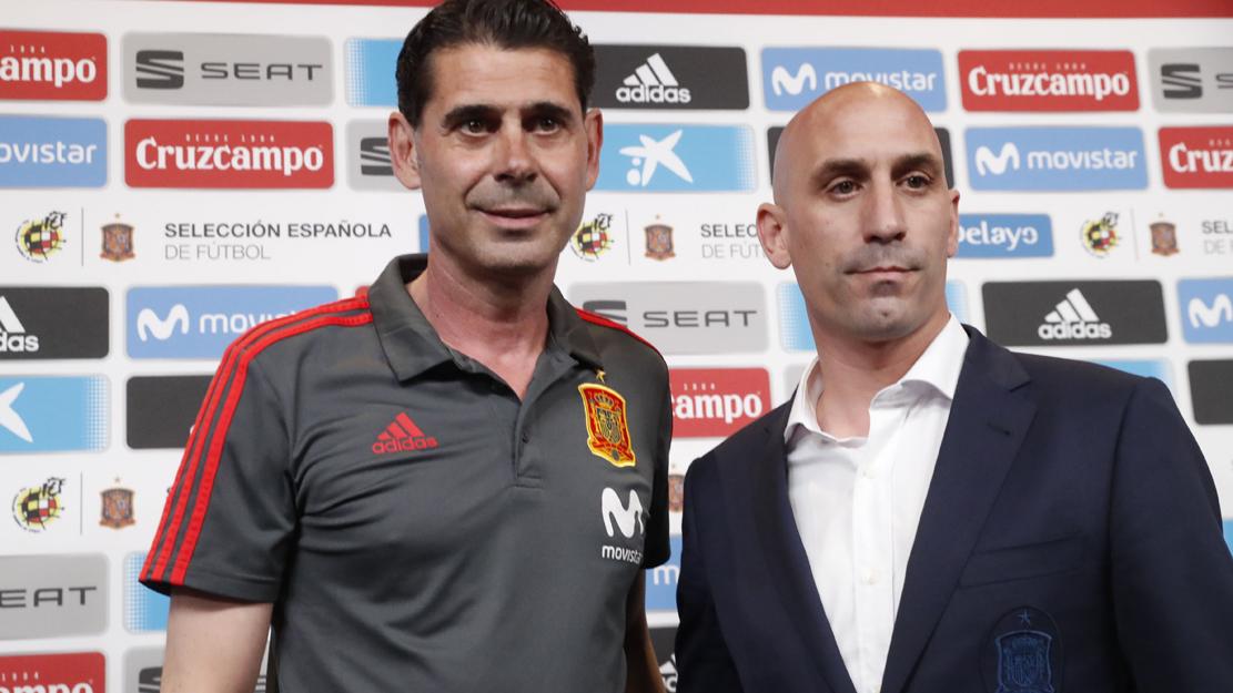 Rueda de prensa íntegra de Fernando Hierro y Luis Rubiales