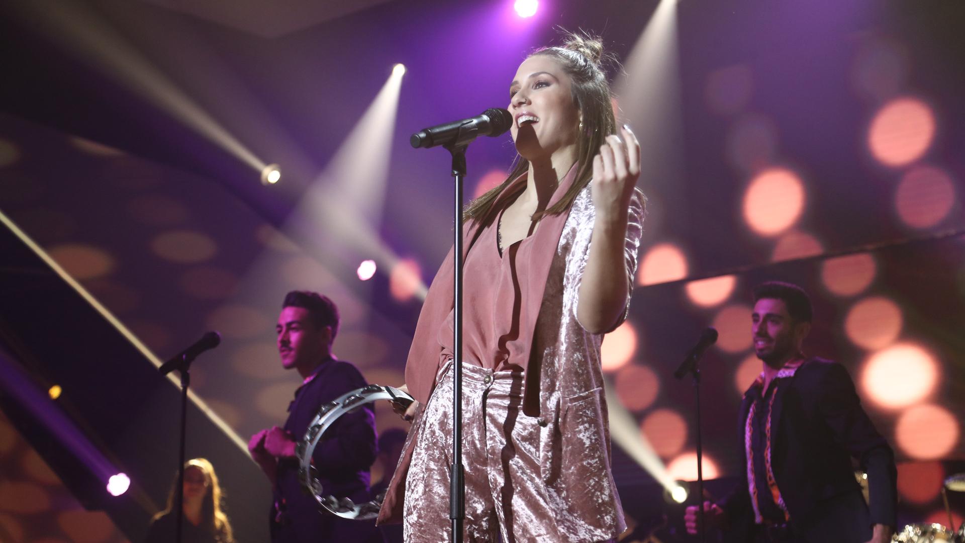 """OT 2018 - Sabela canta """"Next to me"""" en la gala 9"""