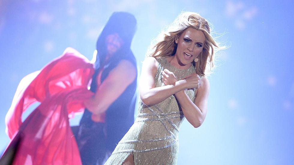 Sabor agridulce para Edurne en Eurovisión