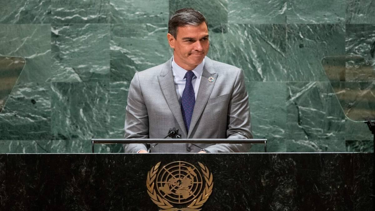 Sánchez promete donar 30 millones de vacunas y advierte ante la ONU que la democracia del mundo «está amenazada»