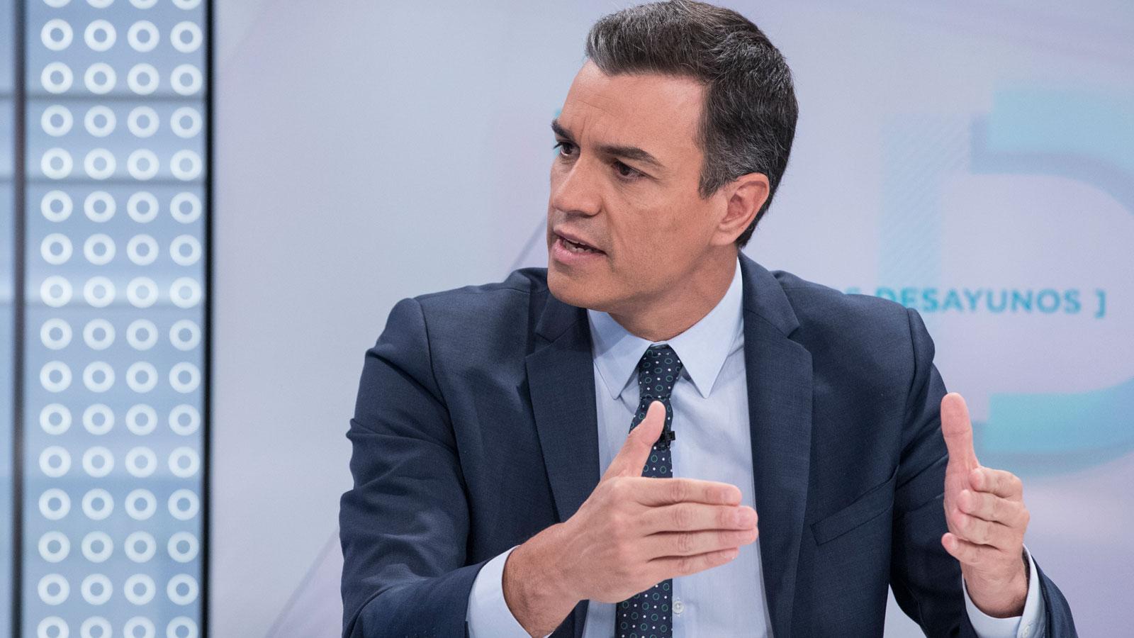 Resultado de imagen de Sánchez se pregunta si Podemos estaría en un gobierno que deba aplicar el artículo 155 en Cataluña