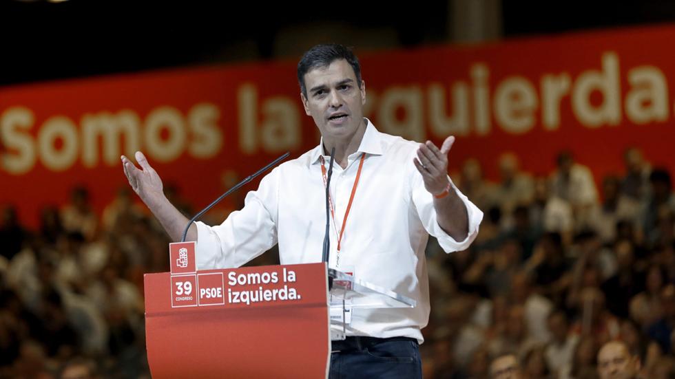 """Sánchez: """"Trabajaré sin descanso para formar una mayoría alternativa que desbanque al PP"""""""