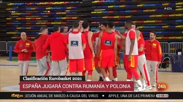 La selección española de baloncesto prepara en Guadalajara sus compromisos de la 'ventana'