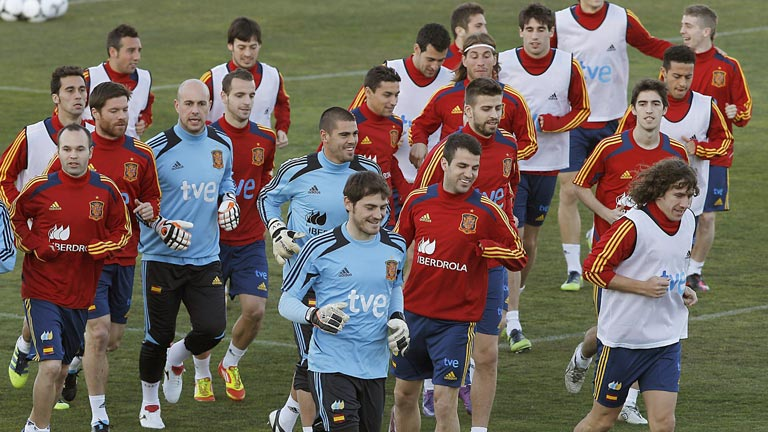 La selección española se pone a prueba contra Venezuela