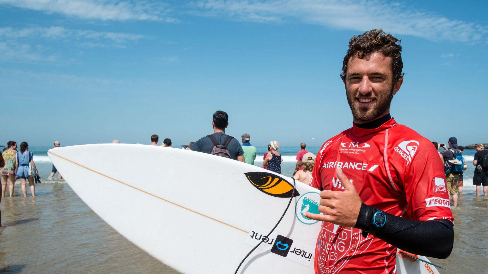 La selección española de surf, primera de Europa en el Mundial de Japón
